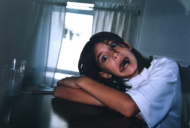 90's Kid Funny Face